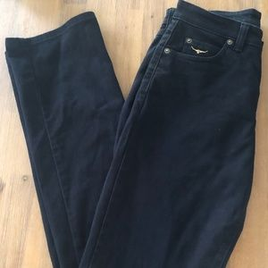 RM Williams Women's Black Sueded  Jean Sz 10 R